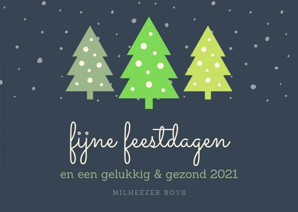 Fijne feestdagen een gelukkig én gezond 2021