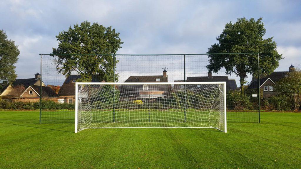 Ingebruikname nieuw trainingsveld en nieuwe wedstrijddoelen jeugd