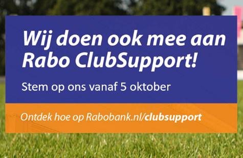 Stem op Milheezer Boys met Rabo ClubSupport